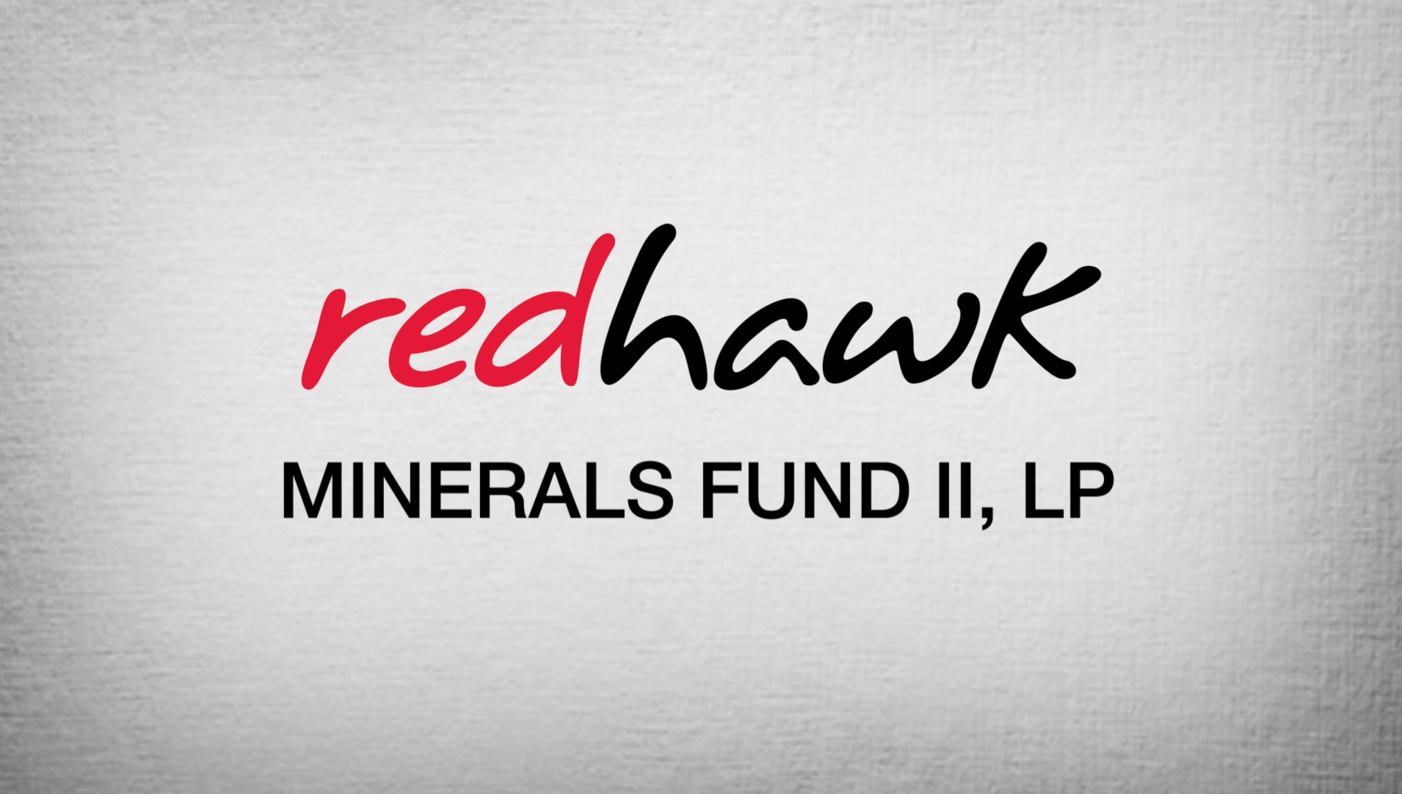 Redhawk Minerals Fund II Announcement
